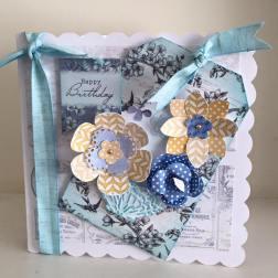 Toile de Jouy Tapestry Blue 2