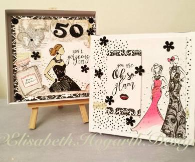 The year so far - Fabulous Fashionista box card