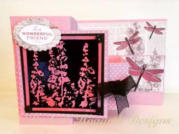 the year so far z fold card imagination crafts stamp