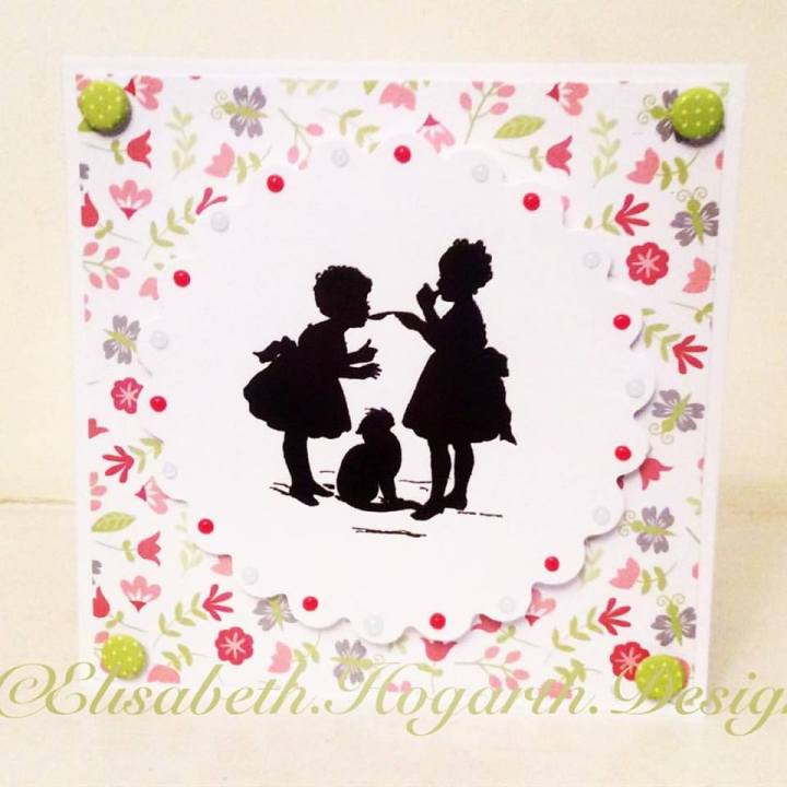 Victorian Silhouettes - a spoonful of sugar
